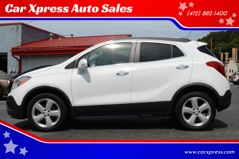 2016 Buick Encore for sale at Car Xpress Auto Sales in Pittsburgh PA