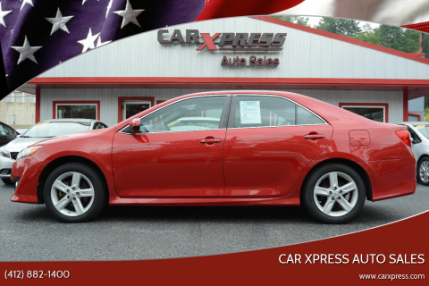2014 Toyota Camry for sale at Car Xpress Auto Sales in Pittsburgh PA