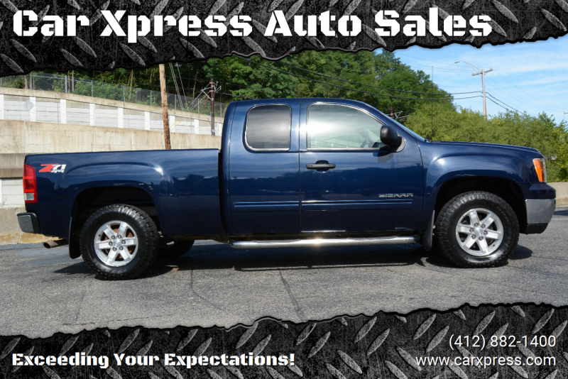 2012 GMC Sierra 1500 for sale at Car Xpress Auto Sales in Pittsburgh PA