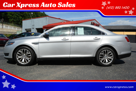 2015 Ford Taurus for sale at Car Xpress Auto Sales in Pittsburgh PA