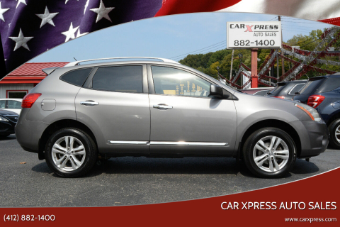 2013 Nissan Rogue for sale at Car Xpress Auto Sales in Pittsburgh PA