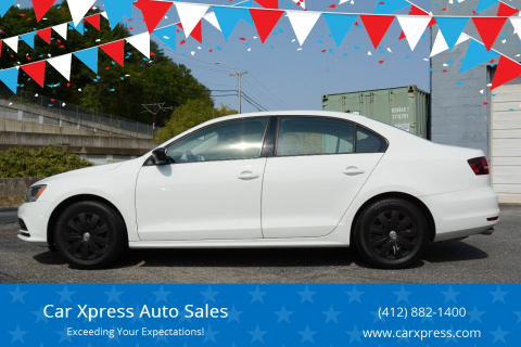 2016 Volkswagen Jetta for sale at Car Xpress Auto Sales in Pittsburgh PA