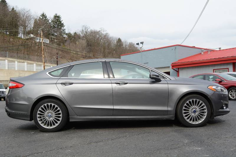 2013 Ford Fusion AWD Titanium 4dr Sedan - Pittsburgh PA