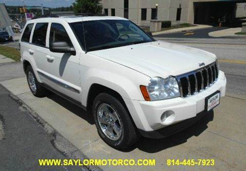 2006 Jeep Grand Cherokee for sale in Somerset, PA