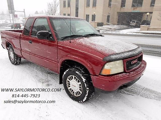 2001 gmc sonoma 2dr extended cab sls 4wd sb in somerset pa saylor motor company. Black Bedroom Furniture Sets. Home Design Ideas