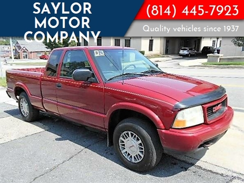 2001 GMC Sonoma for sale in Somerset, PA