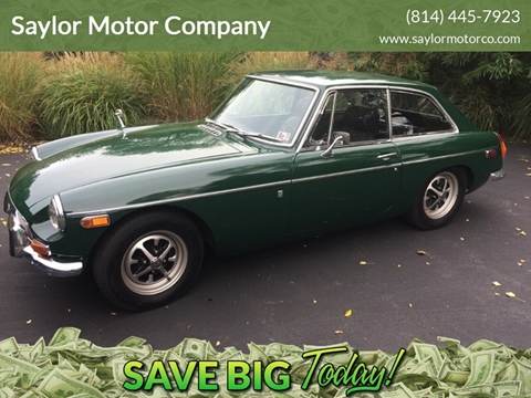 1970 MG MGB for sale in Somerset, PA