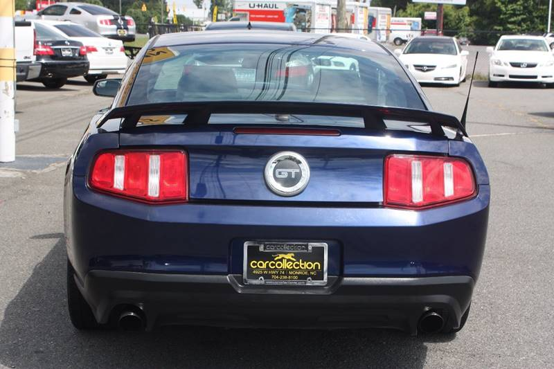 2011 Ford Mustang for sale at Car Collection Inc. in Monroe NC