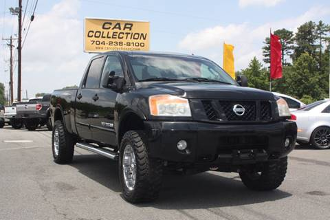 2008 Nissan Titan for sale at Car Collection Inc. in Monroe NC