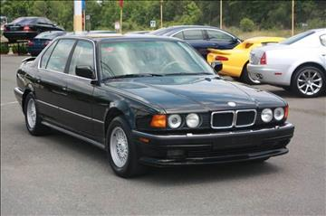 1990 BMW 7 Series for sale at Car Collection Inc. in Monroe NC