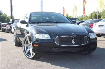 2007 Maserati Quattroporte for sale at Car Collection Inc. in Monroe NC