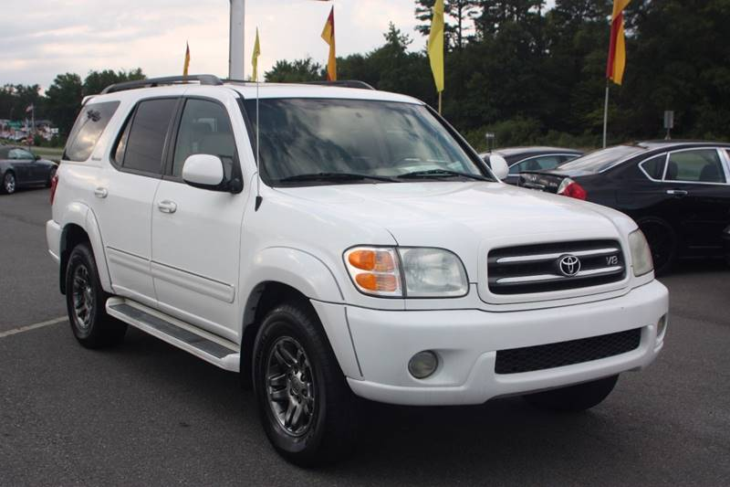 2003 toyota sequoia limited in monroe nc car collection inc. Black Bedroom Furniture Sets. Home Design Ideas