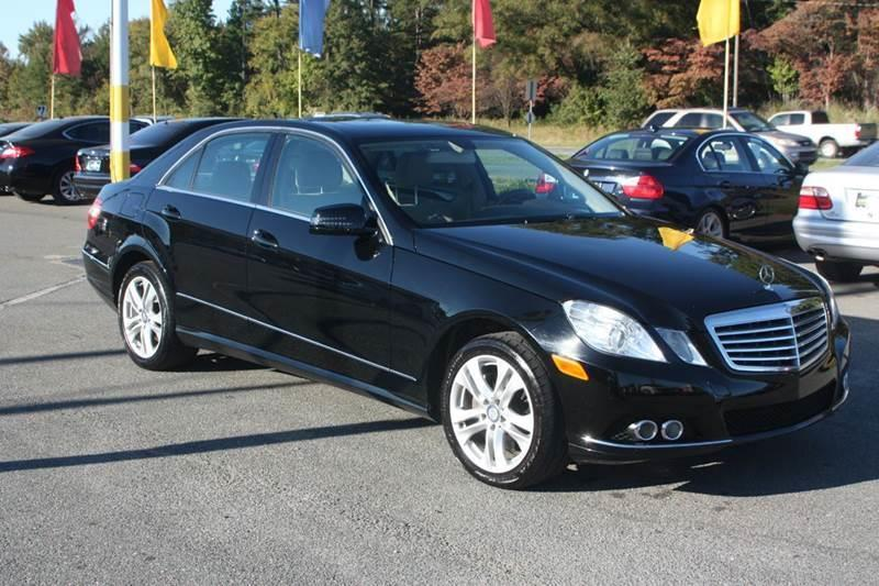 2011 Mercedes-Benz E-Class for sale at Car Collection Inc. in Monroe NC