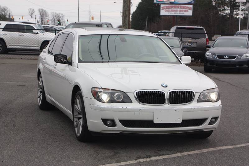 2008 BMW 7 Series For Sale At Car Collection Inc In Monroe NC