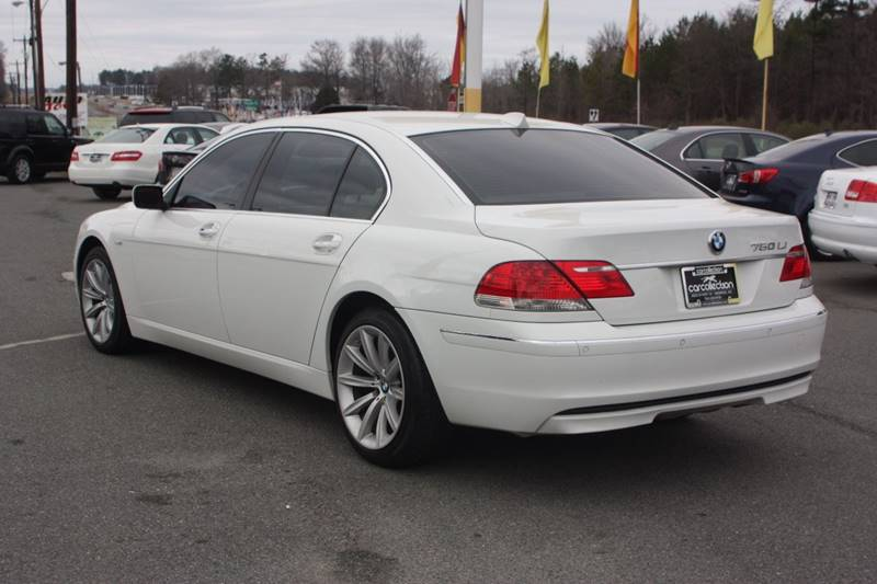 2008 BMW 7 Series for sale at Car Collection Inc. in Monroe NC