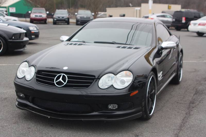 2005 Mercedes-Benz SL-Class for sale at Car Collection Inc. in Monroe NC