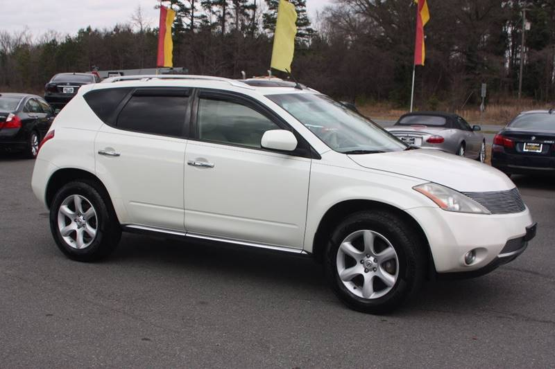2007 Nissan Murano for sale at Car Collection Inc. in Monroe NC