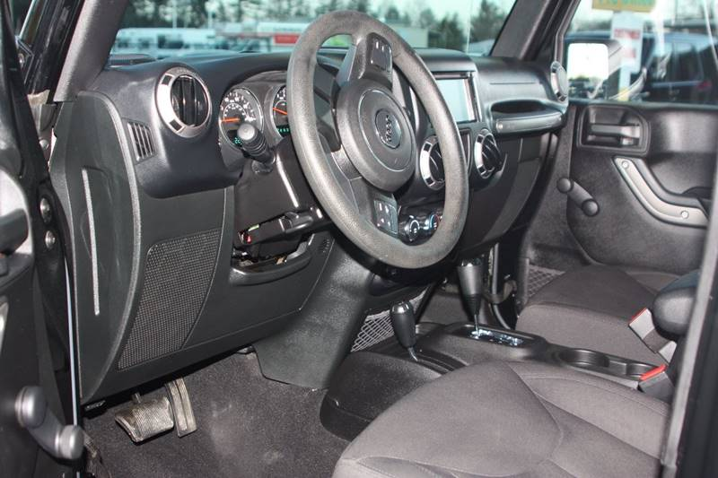 2015 Jeep Wrangler Unlimited for sale at Car Collection Inc. in Monroe NC