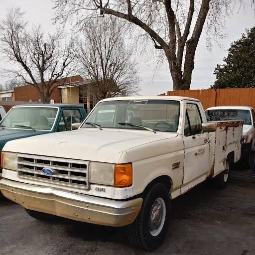 Ford Of Tulsa: 1991 Ford F-250 2dr Standard Cab LB In Tulsa OK