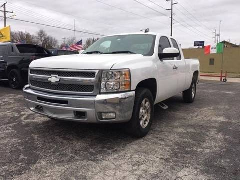 2012 Chevrolet Silverado 1500 LT for sale at Used Car City in Tulsa OK