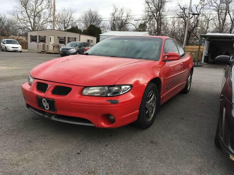 2002 Pontiac Grand Prix for sale at Used Car City in Tulsa OK