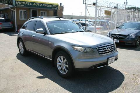 2006 Infiniti FX35 for sale at Imports Auto Sales Inc. in Paterson NJ