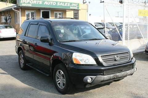 2004 Honda Pilot for sale at Imports Auto Sales Inc. in Paterson NJ