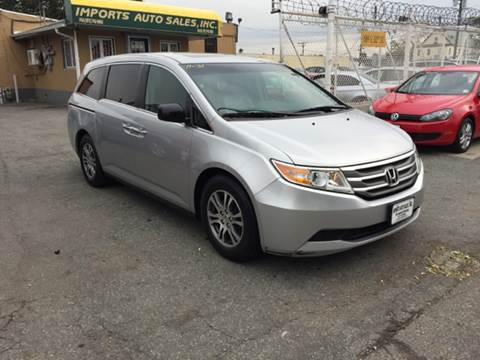 2011 Honda Odyssey for sale at Imports Auto Sales Inc. in Paterson NJ