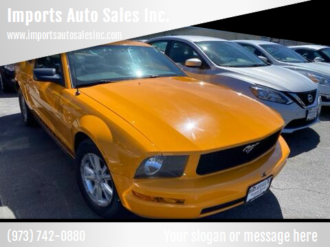 2008 Ford Mustang for sale at Imports Auto Sales Inc. in Paterson NJ