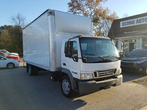 Box Truck For Sale in Raleigh, NC - Econo Auto Sales Inc