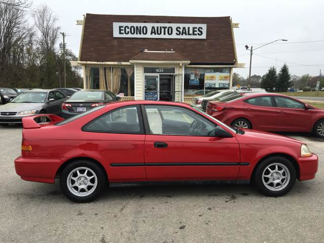 Marvelous 1997 Honda Civic HX 2dr Coupe   Raleigh NC
