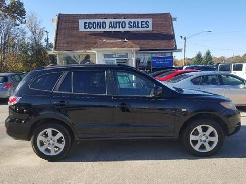 2007 Hyundai Santa Fe for sale at Econo Auto Sales Inc in Raleigh NC