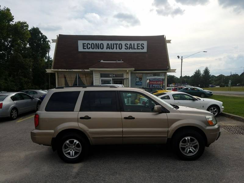 2005 Honda Pilot For Sale At Econo Auto Sales Inc In Raleigh NC