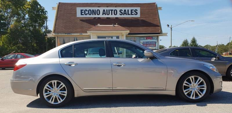 2009 Hyundai Genesis For Sale At Econo Auto Sales Inc In Raleigh NC