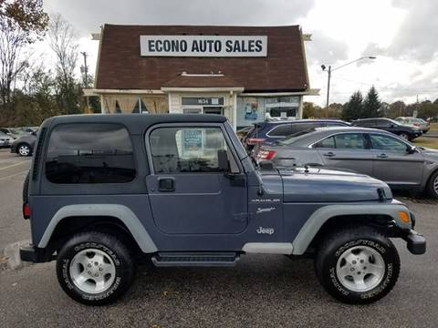 2002 Jeep Wrangler for sale in Raleigh, NC
