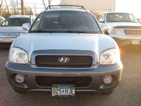 2004 Hyundai Santa Fe for sale at Northtown Auto Sales in Spring Lake MN