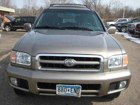 2001 Nissan Pathfinder for sale at Northtown Auto Sales in Spring Lake MN