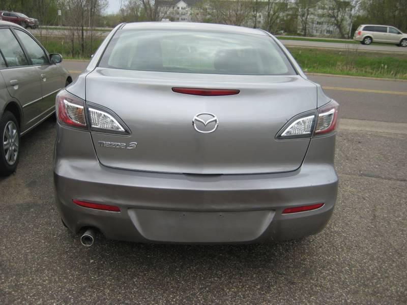 2013 Mazda MAZDA3 i SV 4dr Sedan 5A - Spring Lake Park MN