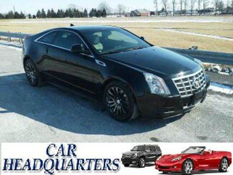 2013 Cadillac CTS for sale at CAR  HEADQUARTERS in New Windsor NY