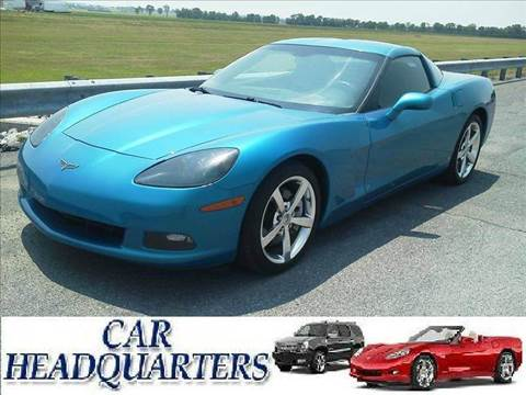 2008 Chevrolet Corvette for sale at CAR  HEADQUARTERS in New Windsor NY