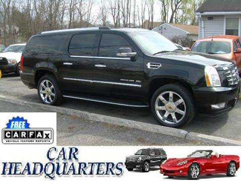 2011 Cadillac Escalade ESV for sale at CAR  HEADQUARTERS in New Windsor NY