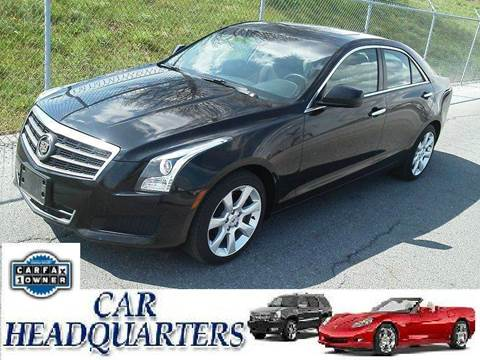 2013 Cadillac ATS for sale at CAR  HEADQUARTERS in New Windsor NY