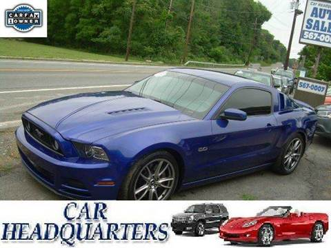 2014 Ford Mustang for sale at CAR  HEADQUARTERS in New Windsor NY