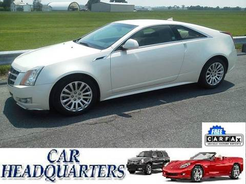 2011 Cadillac CTS for sale at CAR  HEADQUARTERS in New Windsor NY