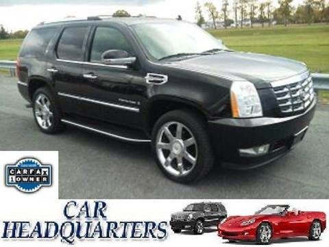 2009 Cadillac Escalade Hybrid for sale at CAR  HEADQUARTERS in New Windsor NY