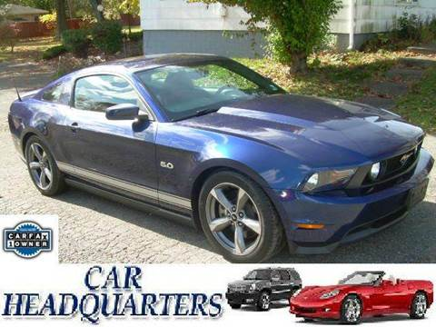 2011 Ford Mustang for sale at CAR  HEADQUARTERS in New Windsor NY