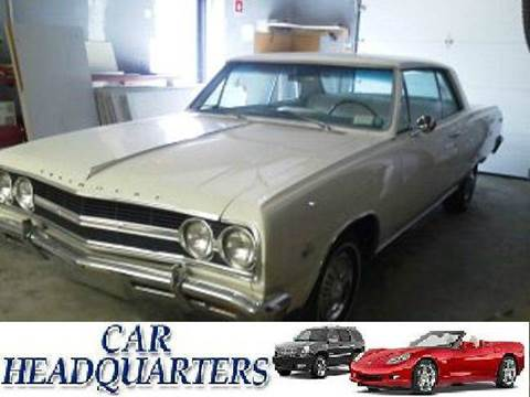 1965 Chevrolet Chevelle Malibu for sale at CAR  HEADQUARTERS in New Windsor NY