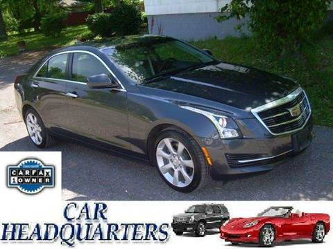 2015 Cadillac ATS for sale at CAR  HEADQUARTERS in New Windsor NY