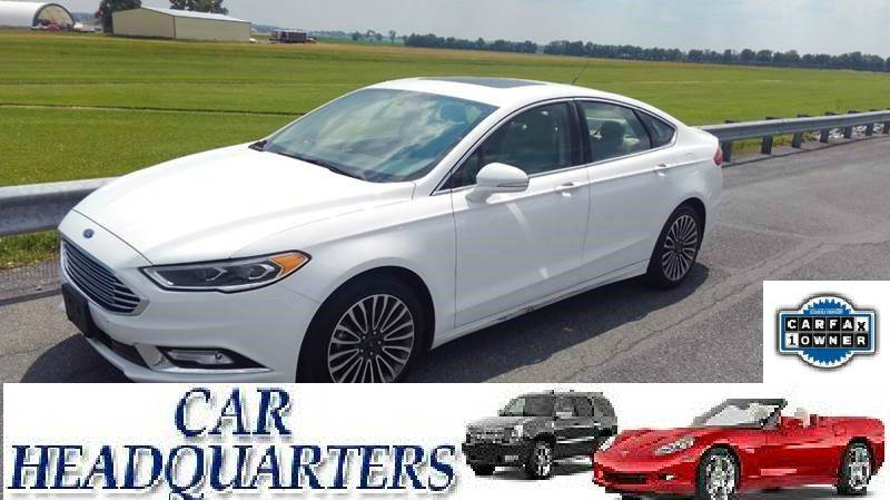 2017 Ford Fusion for sale at CAR  HEADQUARTERS in New Windsor NY