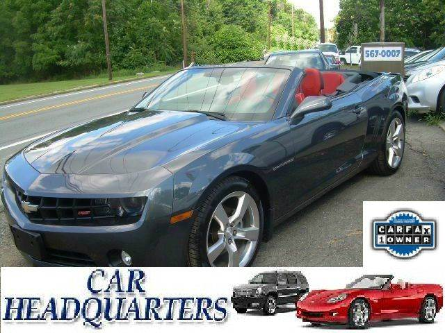 2011 Chevrolet Camaro for sale at CAR  HEADQUARTERS in New Windsor NY